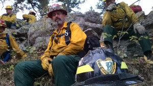 Andy Freeman, of Dublin General Store and an EMT in town, traveled to Idaho in September to fight the wildfires that are so pervasive in that panhandle. Thank you, Andy.