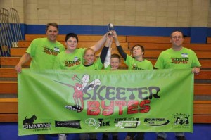 Skeeterbytes' Team captains are Gregg Fletcher, Heather Fletcher, and Seth Ogden. Other members of the team are Colby Mitchell, Andrew Fletcher, Ian Sage, and Noah Ogden.