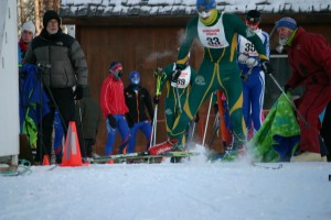 In the start of one of three races Jim officiated in November, they skied at -3 degrees F all three days. (The cut off is -5 degrees F.)