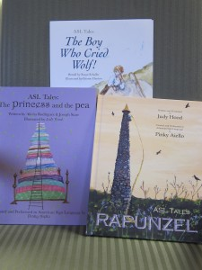Laurie Meyer donated Rapunzel to the Dublin Public Library in 2010. Photo by Sally Shonk
