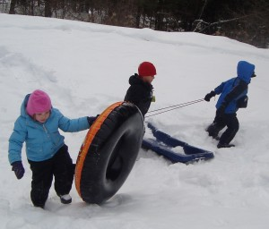 Cobb Meadow snow play