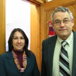Jeannine Dunne, Town Clerk/Tax Collector andNeil Sandford, Deputy Town Clerk/Tax Collector.