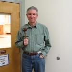 Tim Clark, Town Moderator.