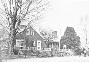 This old photo of Staghead Farm, before Page Rd. was paved, was probably taken in 1967 when two DCA students, Jeff Josephson and Tom Atema, were riding after school.