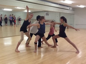 This photo is from the Pilobolus Master Class held at M.A.M.A.