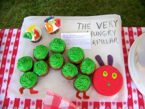 "Among the six winners for the DCP 50th Birthday cupcake contest was Anna Ritchie's ""The Very Hungry Caterpillar."" Photo by Dan Millbauer"