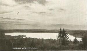 Antique postcard credit: Photo courtesy Dublin Historical Society