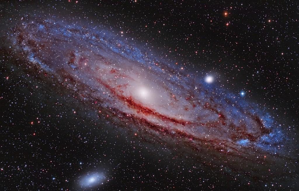andromeda galaxy images - 1024×656