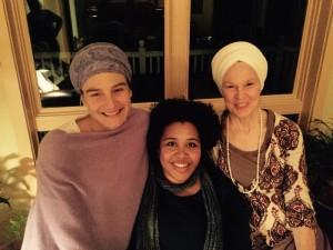 Soul's transition team includes Balmeet Kaur Khalsa and Grace Aldrich, who have taken over the yoga studio in West Peterborough from Hari Kirin Khalsa (R).
