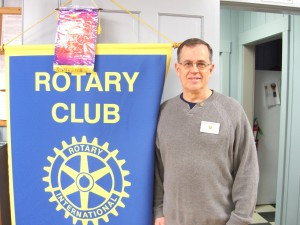 Dale Gabel, President of the Monadnock Rotary Club. Photo by Ramona Branch