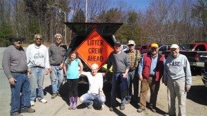 Monadnock Rotary Club volunteered again to clean Dublin's Main Street roadsides as Rte. 101 enters Peterborough. Thanks to all Rotarians!