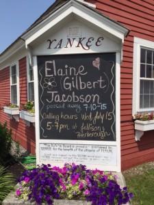 use alone - Elaine Gilbert Jacobson