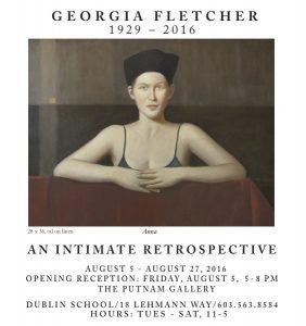 Ga Fletcher Art Show AD