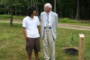 Blake with his grandson, Ko.